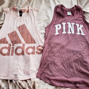 VS pink and Adidas workout bundle 🎀